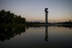 Επισκεμμένος πύργος Στοκ Εικόνα