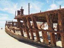 επισκεπτόμενο νησί Fraser Στοκ εικόνα με δικαίωμα ελεύθερης χρήσης