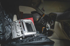 Επισκευάστε την καλωδίωση του αυτοκινήτου στοκ εικόνες