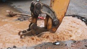 Επισκευάστε το σπασμένο σωλήνα για εσωτερικό στο έδαφος λάσπης φιλμ μικρού μήκους