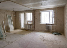 Επισκευές στο διαμέρισμα Στοκ Εικόνα