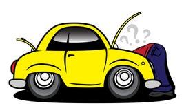 επισκευή αυτοκινήτων Στοκ Εικόνα