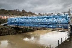 Επισκευή γεφυρών στοκ εικόνα με δικαίωμα ελεύθερης χρήσης