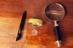 Επισκευή ρολογιών Στοκ Εικόνα