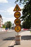 Επισκευή του δρόμου Στοκ φωτογραφία με δικαίωμα ελεύθερης χρήσης