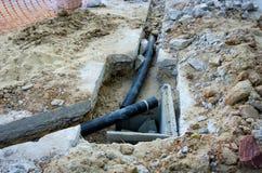 Επισκευή υδραυλικών Στοκ εικόνες με δικαίωμα ελεύθερης χρήσης