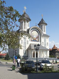Επισκοπικός καθεδρικός ναός αναζοωγόνησης, drobeta-Turnu Severin, Ρουμανία Στοκ Εικόνες