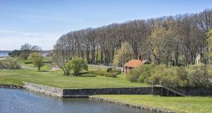 Επισκόπηση από το κάστρο Kalmar Στοκ φωτογραφία με δικαίωμα ελεύθερης χρήσης