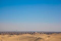 Επισκόπηση πόλεων Giza στοκ εικόνες με δικαίωμα ελεύθερης χρήσης