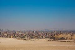 Επισκόπηση πόλεων Giza στοκ φωτογραφίες με δικαίωμα ελεύθερης χρήσης