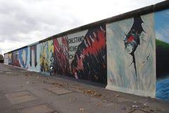 Επισκόπηση τειχών του Βερολίνου Στοκ φωτογραφίες με δικαίωμα ελεύθερης χρήσης
