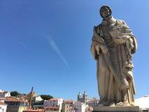 Επισκόπηση της Λισσαβώνας Στοκ φωτογραφία με δικαίωμα ελεύθερης χρήσης