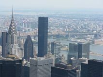 Επισκόπηση της Νέας Υόρκης Στοκ Φωτογραφία
