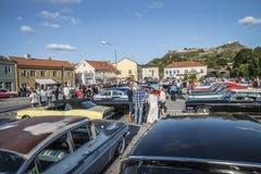 Επισκόπηση της amcar έκθεσης Στοκ φωτογραφία με δικαίωμα ελεύθερης χρήσης