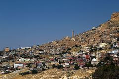 Επισκόπηση Mardin στοκ φωτογραφίες με δικαίωμα ελεύθερης χρήσης