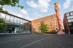 Επισκόπηση midden-Nederland δικαστηρίου Στοκ Εικόνες