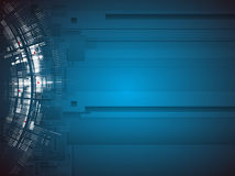 Επιστήμης φουτουριστική επιχείρηση τεχνολογίας υπολογιστών Διαδικτύου υψηλή Στοκ φωτογραφία με δικαίωμα ελεύθερης χρήσης