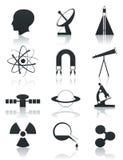 επιστήμη εικονιδίων Στοκ φωτογραφίες με δικαίωμα ελεύθερης χρήσης