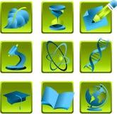 Επιστήμη εικονιδίων Στοκ Εικόνες