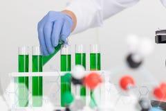 Επιστήμη εργαστηριακής έρευνας ιατρική Στοκ Εικόνες
