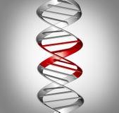 Επιστήμη θεραπείας Genomic ελεύθερη απεικόνιση δικαιώματος