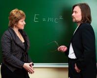 επιστήμη συζήτησης Στοκ Εικόνες