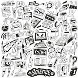 Επιστήμη - doodles Στοκ φωτογραφίες με δικαίωμα ελεύθερης χρήσης
