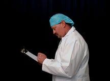 επιστήμονας ιατρικής έρε&ups Στοκ Φωτογραφίες