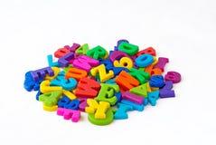 επιστολές αλφάβητου μα&gamm Στοκ φωτογραφία με δικαίωμα ελεύθερης χρήσης