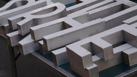επιστολές αλφάβητου ξύλ&io Στοκ φωτογραφία με δικαίωμα ελεύθερης χρήσης