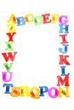 επιστολές αλφάβητου Στοκ Φωτογραφία