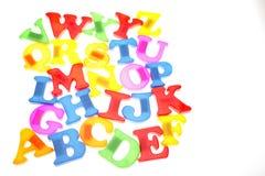 επιστολές αλφάβητου Στοκ Εικόνες