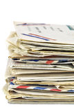 επιστολές παλαιές Στοκ εικόνα με δικαίωμα ελεύθερης χρήσης