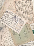 επιστολές παλαιές Στοκ εικόνες με δικαίωμα ελεύθερης χρήσης