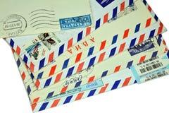 επιστολές παλαιές Στοκ Φωτογραφία