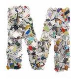 Επιστολές που γίνονται από την εφημερίδα capitel Μ Στοκ Εικόνες