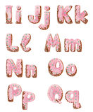 επιστολές δείκτη νοημοσύνης κέικ Στοκ φωτογραφία με δικαίωμα ελεύθερης χρήσης