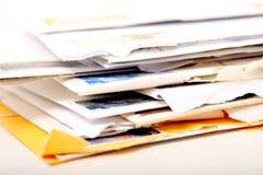 επιστολές Στοκ φωτογραφίες με δικαίωμα ελεύθερης χρήσης