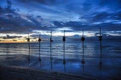 Επιστολές Silhoutte νησιών Holbox στοκ φωτογραφίες με δικαίωμα ελεύθερης χρήσης