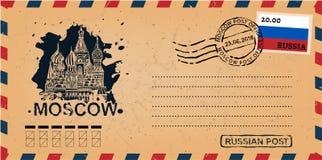 Επιστολή από τη Μόσχα ελεύθερη απεικόνιση δικαιώματος