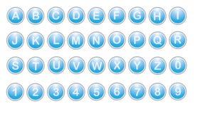 επιστολή κουμπιών Στοκ φωτογραφία με δικαίωμα ελεύθερης χρήσης