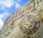 επιστολή παλαιά Στοκ φωτογραφία με δικαίωμα ελεύθερης χρήσης