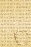 επιστολή παλαιά διανυσματική απεικόνιση