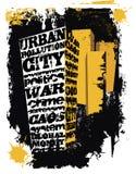 επιστολή πόλεων Στοκ εικόνες με δικαίωμα ελεύθερης χρήσης