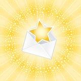 επιστολή τυχερή Στοκ Εικόνα