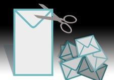 επιστολή φακέλων απεικόνιση αποθεμάτων