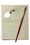 επιστολή Στοκ Εικόνα