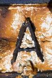 επιστολή Στοκ εικόνα με δικαίωμα ελεύθερης χρήσης