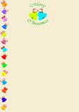 επιστολόχαρτο Χριστου&ga διανυσματική απεικόνιση