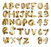 Επιστολές λάσπης Στοκ εικόνα με δικαίωμα ελεύθερης χρήσης